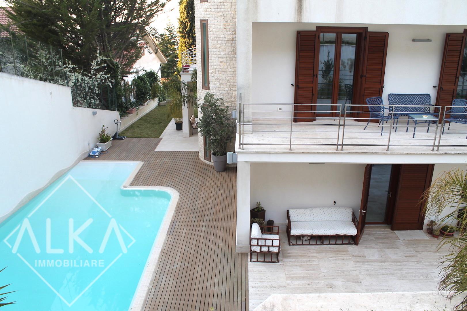 Prestigiosa villa in vendita ad Alcamo – panoramica