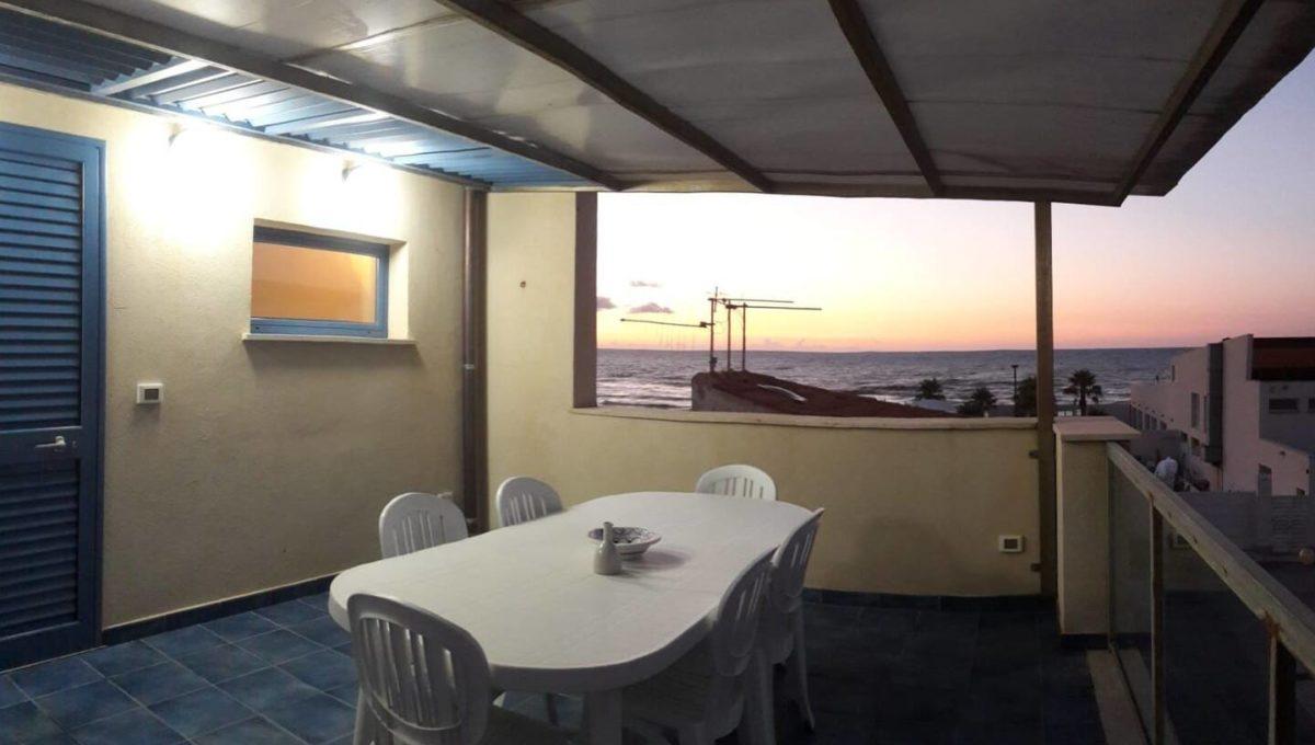 terrazzo tramonto