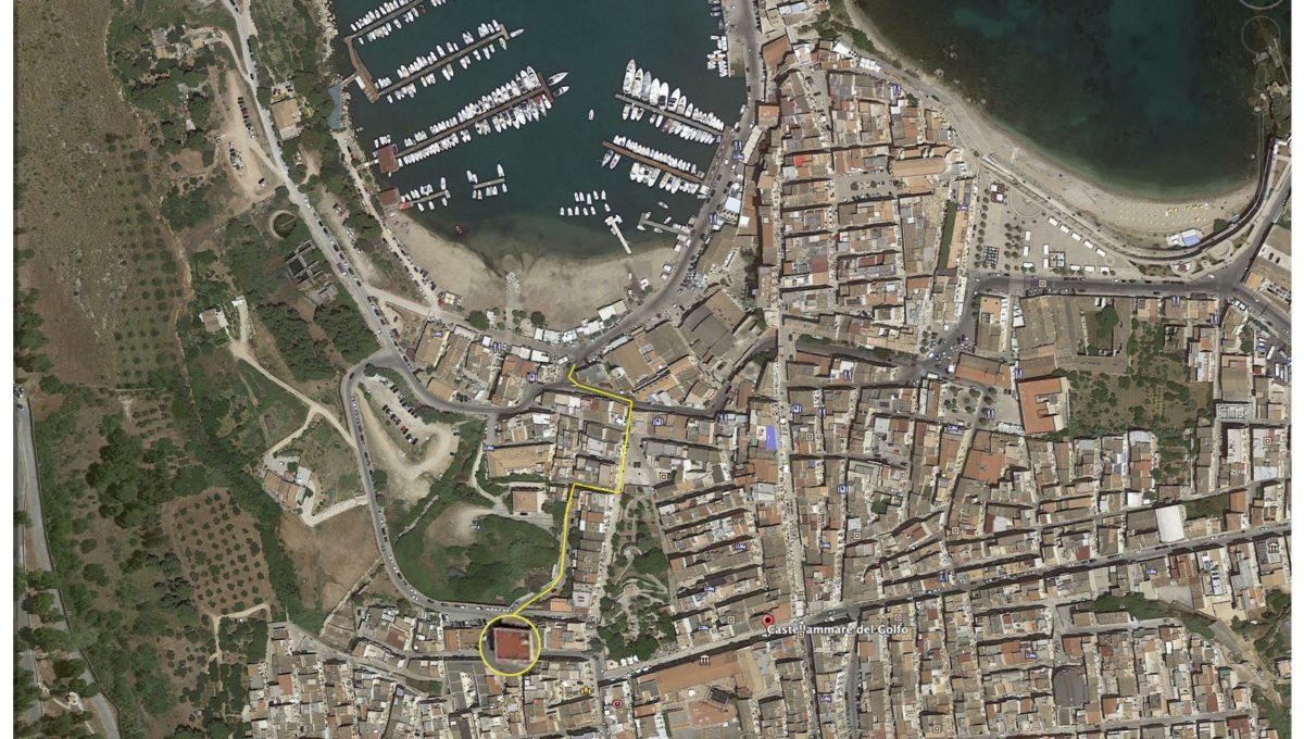 percorso marina via canale vecchio per sito